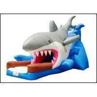 Buy cheap Large Giant Commercial Shark Bouncy Castle with Slide for Kids Shark Inflatable Bouncy Playground from wholesalers