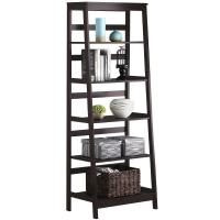 Buy cheap Wooden Ladder Shelf , Tall Book Shelves With Customized Color from wholesalers