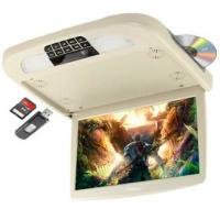China 9 inch TIANMA new 16:9 digital LCD panel DVD CD MP4 roof mounted car dvd player flip down roof car monitor on sale
