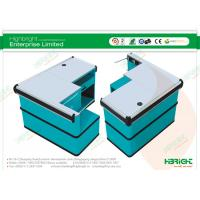 Buy cheap Shopping Mall Stainless Steel Countertop Checkout Cash Counter HBE-121 from wholesalers