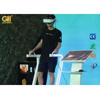 Buy cheap Safety VR Theme Park 9D Virtual Reality Standing Up Simulator For Movie Theater product