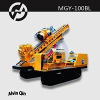 Buy cheap MGY-100BL full Hydraulic drilling rig crawler drilling machine hydropower project from wholesalers