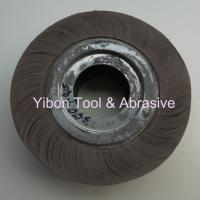 Buy cheap 350*50*32mm Plane Flap Wheel for Polishing Steel Pipe product