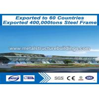 Buy cheap AWS D1.1 Carbon Steel Frame Construction ISO Code Steel Structure Building from wholesalers