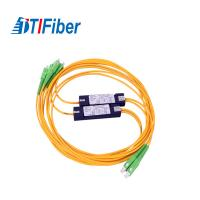 Buy cheap ABS Box Type PLC Splitter 1x4/1x8/1x16/1x32 FTTH Fiber Optic Splitter from wholesalers