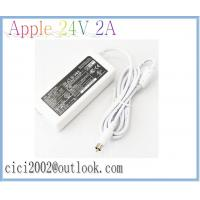 Buy cheap Apple 24V 2A 48W Power Adapter, White AC Adapters with 7.7*2.5mm power cable from wholesalers