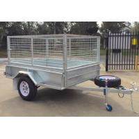 Buy cheap 6x4 Fully Hot Dipped Galvanised Caged Trailer 750KG from wholesalers