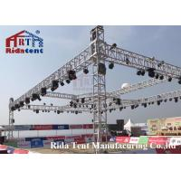 Buy cheap Line Array Stage LightTruss Systems6082-T6 Aluminum Alloy High Hardness product