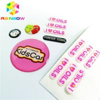 Buy cheap Epoxy Material Shrink Sleeve Labels Offset Printing With Die Cut Straight Corner from wholesalers