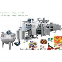 Buy cheap YIXUN Complete Automatic Hard Candy depositing production line 150kg 300kg small hard candy processing machines from wholesalers