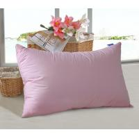 Buy cheap Colorful Microfiber Pillow Insert Double Stitch Fluffy Hollow fiber filling  for Home and Hotel from wholesalers
