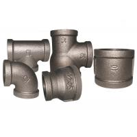 Buy cheap Durable Malleable Cast Iron Pipe Fittings , Adjustable Pipe Joints And Fittings from wholesalers
