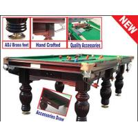 Buy cheap Slate Snooker Billiard Pool Table from wholesalers