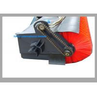 Buy cheap 72'' Angle Broom Skid Loader Attachments Hydraulic Closed Sweeper 1 Year Warranty from wholesalers