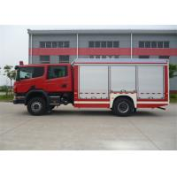 Buy cheap 4x2 Drive Chemical Accidents Rescue And Salvage Fire Vehicle Euro 4 Emission Standard from wholesalers