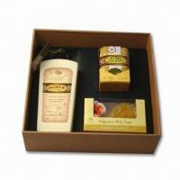 Buy cheap Bath Set with Functions of Calming Nerves and Skin Care, Includes 1 Bar of Glycerin Soap from wholesalers