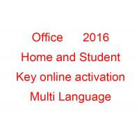 Buy cheap Windows Microsoft Office 2016 Key Code Home And Student OEM All Languages from wholesalers