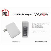 Buy cheap 4 Port  Usb Wall Charger For Android Apple Samsung Mobile Phone And Tablet from wholesalers