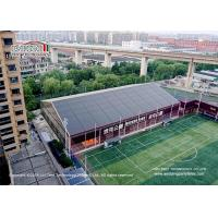 China Customized Clear Span PVC Sport Event Tents For Indoor Baseketball Court, Aluminum and PVC big tent for sports event on sale