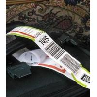 Buy cheap PP Synthetic Plastic Self Adhesive Labels Sheet For Luggage / Boarding Pass from wholesalers