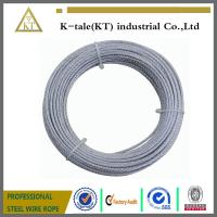 Buy cheap High quality 1x19 steel wire ropes/steel wire cable/steel strand from wholesalers
