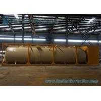 Buy cheap Horizontal 45m3 Cement Dry Bulk Tanker Trailer 40 Foot Container from wholesalers