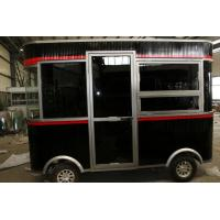 Buy cheap Black Custom Food Trucks / Stainless Steel Food Truck With Ice Crusher from wholesalers