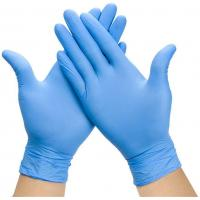 Buy cheap Examination Disposable Medical Gloves , Nitrile Disposable Gloves For Hospital product