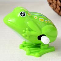 Buy cheap 5 Cm Long Classic Wind Up Toys / Green Frog Wind Up Toy For Preschool Education from wholesalers