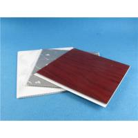 Buy cheap White Red Silver Marble Color UPVC Wall Panels , decorative wall cladding sheets from wholesalers