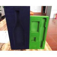 Buy cheap Odorless recycled flocking self adhesive insulation foam package from wholesalers