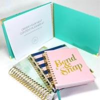 Buy cheap Custom Printing Personalised Stationery Gifts For Kids Hardcover Daily Planner Notebook from wholesalers