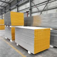 Buy cheap 50mm greywhite mgo sandwich panels with 11 wind resistance for clear room from wholesalers