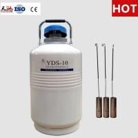 Buy cheap TianChi Liquid Nitrogen Storage Container 10L Aviation Aluminum Tank China Manufacturers from wholesalers