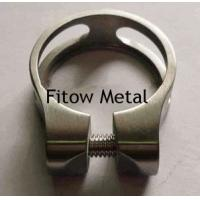 Buy cheap Titanium Bike Parts GR5 6Al/4V Titanium Bicycle Seat Clamp 31.8MM from wholesalers