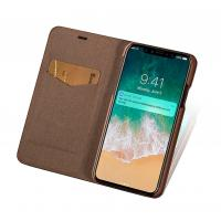 Buy cheap Retro Leather Flip Cover For iphone X Protective Wallet Phone Case Cover from wholesalers