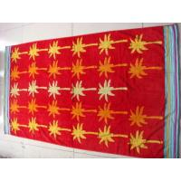 Buy cheap 100% Cotton Double Jacquard Velour Beach Towel from wholesalers