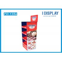 Buy cheap 4 Tier Retail POP Cardboard Cake Stand Display With Customized Logo from wholesalers