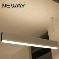 Buy cheap direct-indirect lighting Led linear pendant light fixture hanging suspension light led linear hanging pendant lights from wholesalers