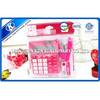 Buy cheap Pink / Green Mini Office Stationery Set With Plastic Bag Package from wholesalers