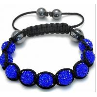Buy cheap Summer Fashion Single Color Crystal Shamballa Bracelet from wholesalers