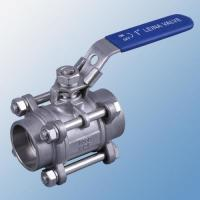 Buy cheap Durable 3PC Socket Welding 2 Inch Stainless Steel Ball Valve For Industrial from wholesalers