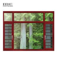 Buy cheap Fly Screen Bronze Aluminium Windows , Turn Aluminum Clad Casement Windows from wholesalers