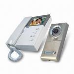 Buy cheap Handset Color Wired Video Door Phones, Adjustable Brightness and Contrast, Multi-door entry from wholesalers