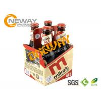 Buy cheap Disposable Custom Printed Product Boxes Paper Cardboard Shipping Boxes for Beer Bottle from wholesalers