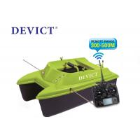 Buy cheap Green Remote control fishing bait boat DEVC-304M 300-500 M Range RoHS Certification from wholesalers