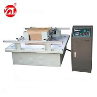 Buy cheap 220V 50hz Vibration Testing Equipment For Carton Simulation Transportation from wholesalers