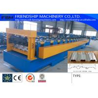 Buy cheap 1.0-2.0MM Thickness Galvanized Steel Metal  Floor Deck Panel  Roll Forming Machine With 19 Forming Stations from wholesalers