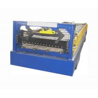 Buy cheap Fully automatic roofing panel 40# Hydraulic metal roll forming machine CE,  ISO from wholesalers