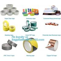 Buy cheap super clear tape stationery tape,green pet tape,polymide heat resistant tape,pvc duct tape,warning tape,copper foil tape from wholesalers